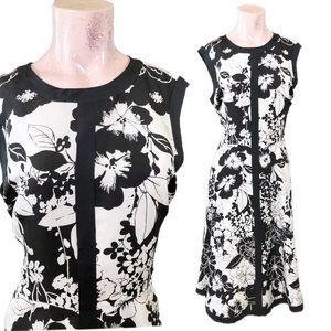Neiman Marcus Silk Floral Dress, Size 12